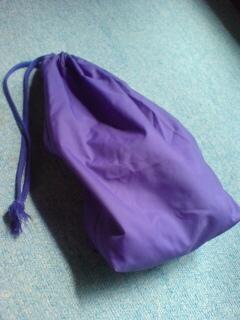 紫色の巾着♪