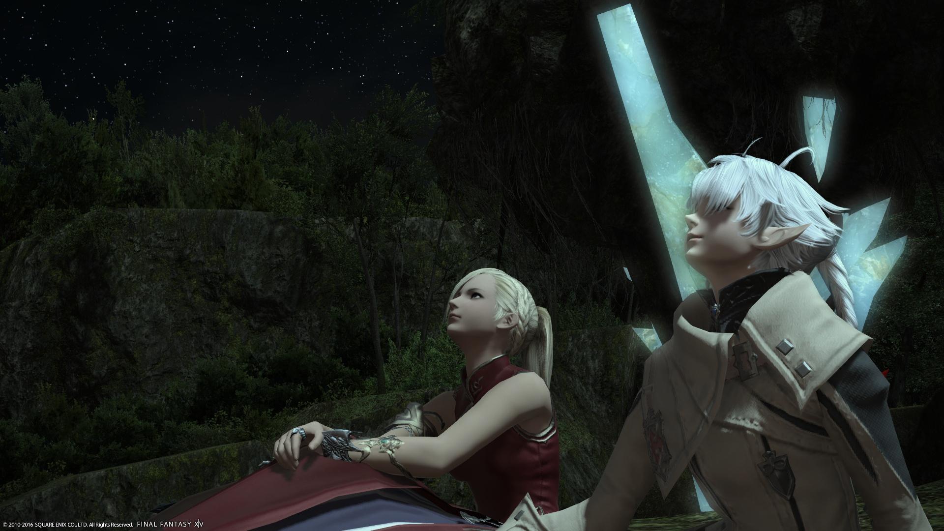 アリゼーと星空デート