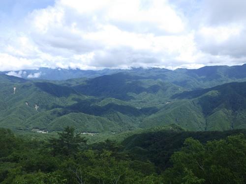 鶏冠山29景色