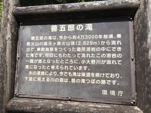 善五郎の滝18