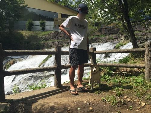 犬ころの滝3