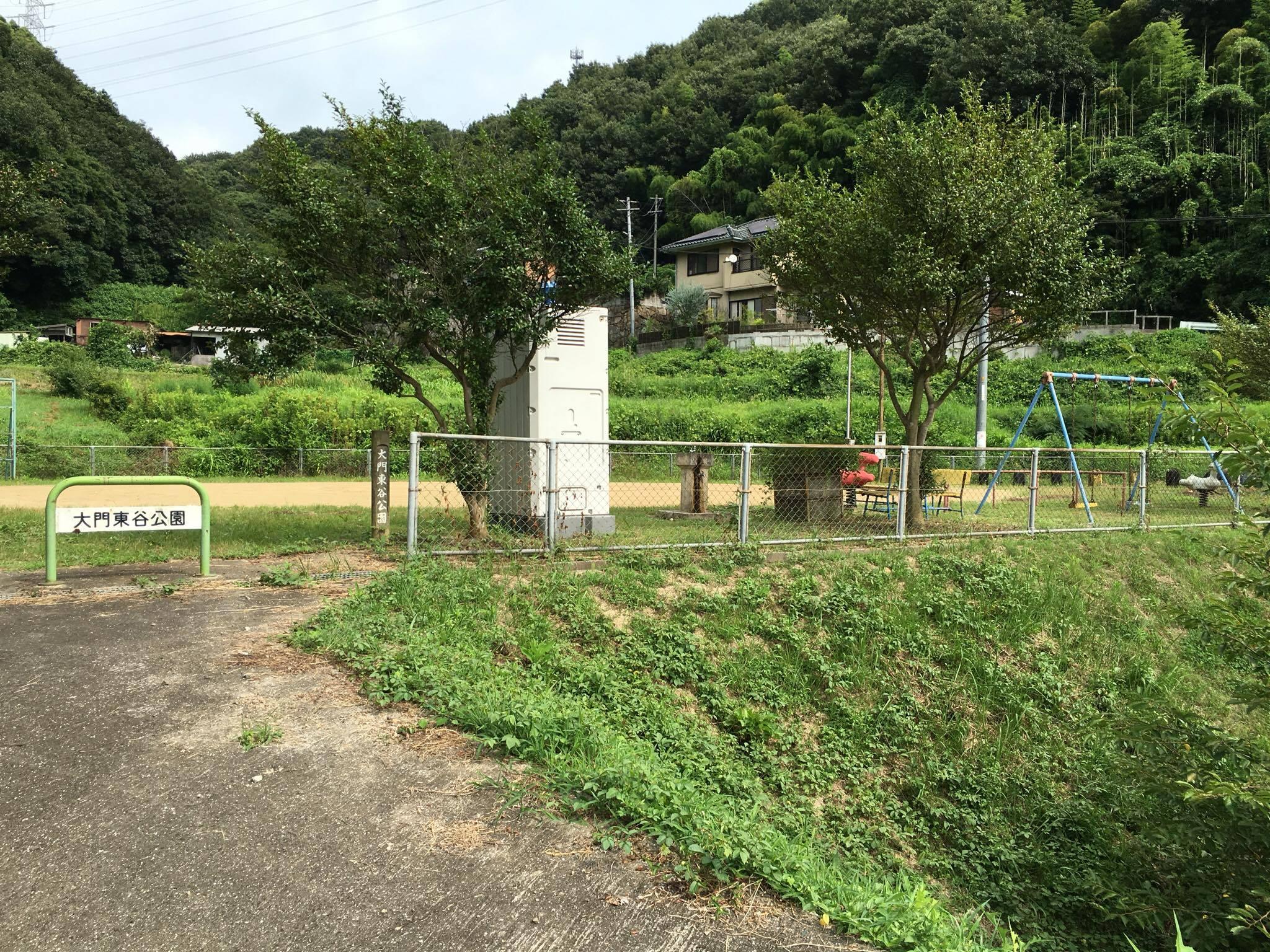 大門への道7