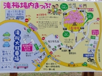 三春滝桜2016 13 案内図