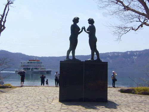 十和田湖11休屋湖畔乙女の像
