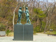 十和田湖12休屋湖畔乙女の像