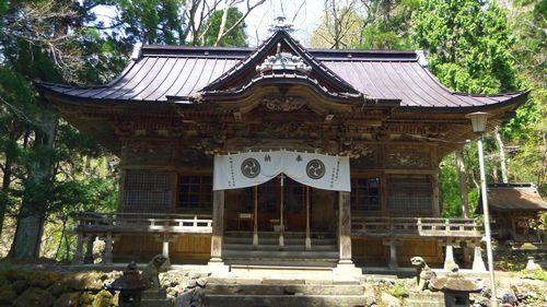 十和田神社1拝殿