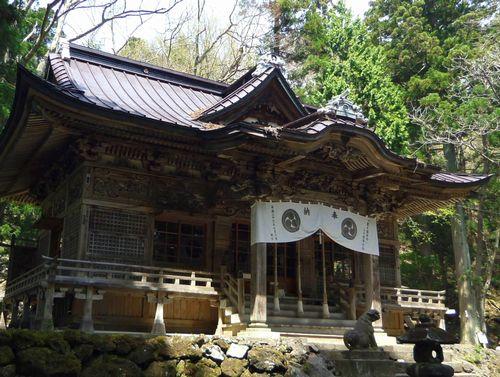十和田神社7拝殿