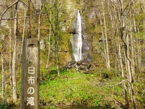 奥入瀬渓流9白布の滝