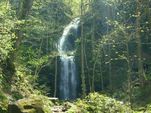 奥入瀬渓流10雲井の滝
