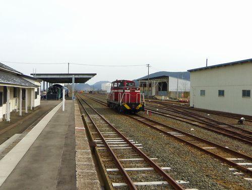 小坂鉄道レールパーク3構内