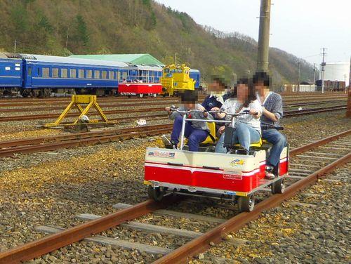 小坂鉄道レールパーク11レールバイク・観光トロッコ