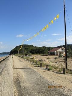 小豆島 黄色いハンカチ