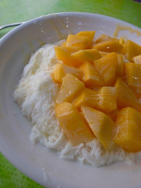 マンゴーかき氷 - 1