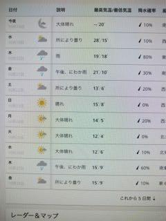 ニューヨーク 天気予報 - 1