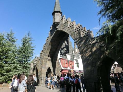 ハリポタ門