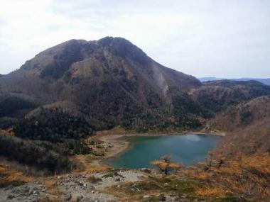 前白根山からの奥白根山