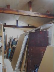 絵画保管庫内装