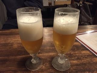 乾杯ビール