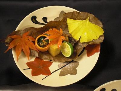 秋らしい器