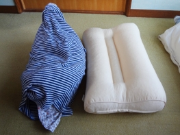 いびき対応の枕を購入しました。