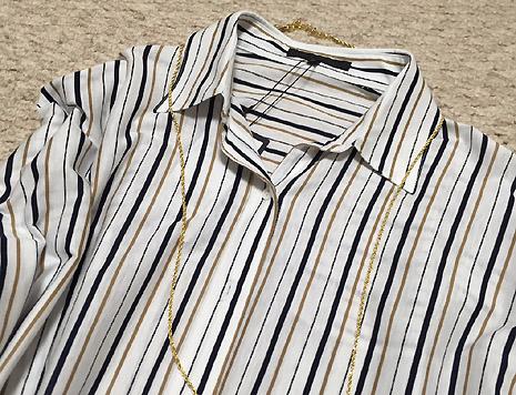 このシャツ、高かったけど買って良かったー!