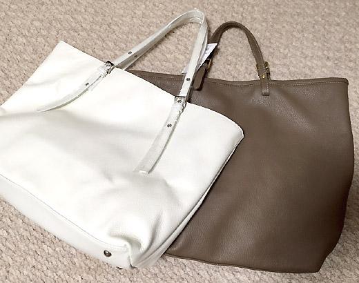 手提部分がベルト型のシンプルバッグです。モカ色は「POPCORN(ポップコーン)」のものです。