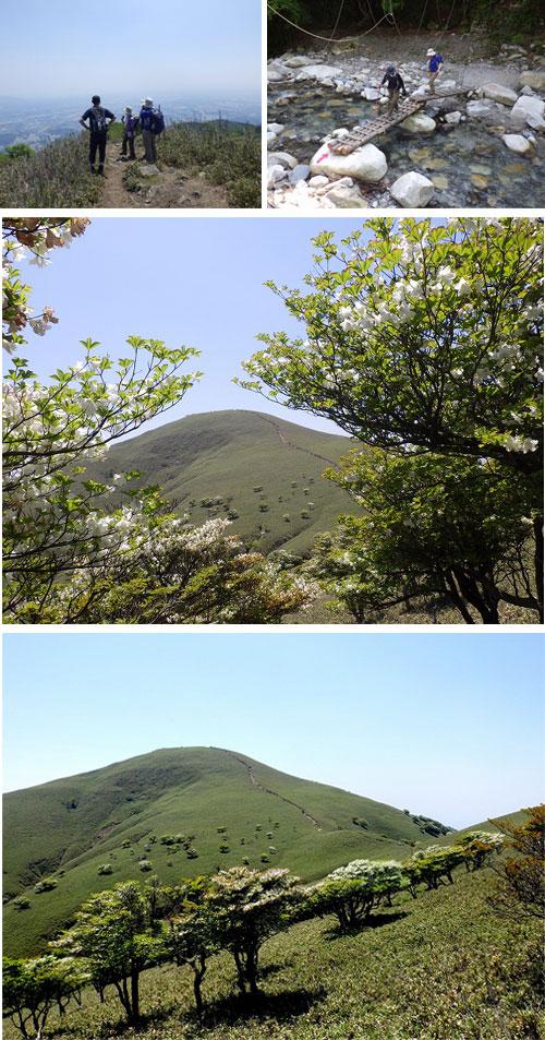 鈴鹿:竜ヶ岳(1,100m)1