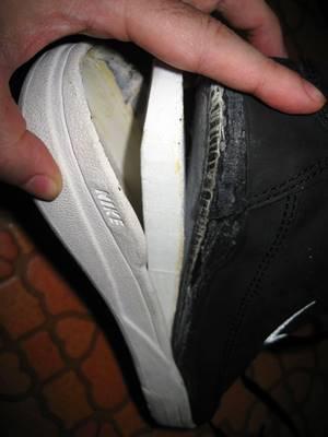 靴剥がれ2
