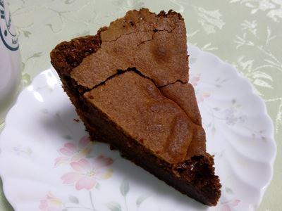 ガトーショコラ カット