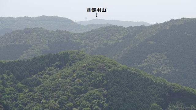 諭鶴羽山まで6.6キロ