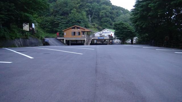 見ノ越 第一駐車場