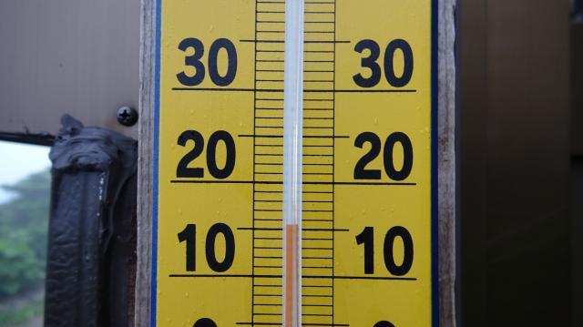 頂上ヒュッテ到着 05時53分 15度か16度