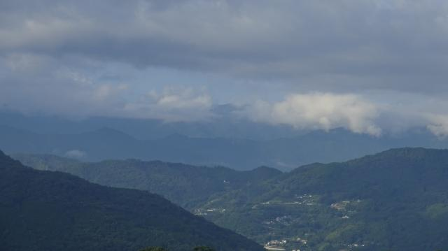 矢筈山は雲の中