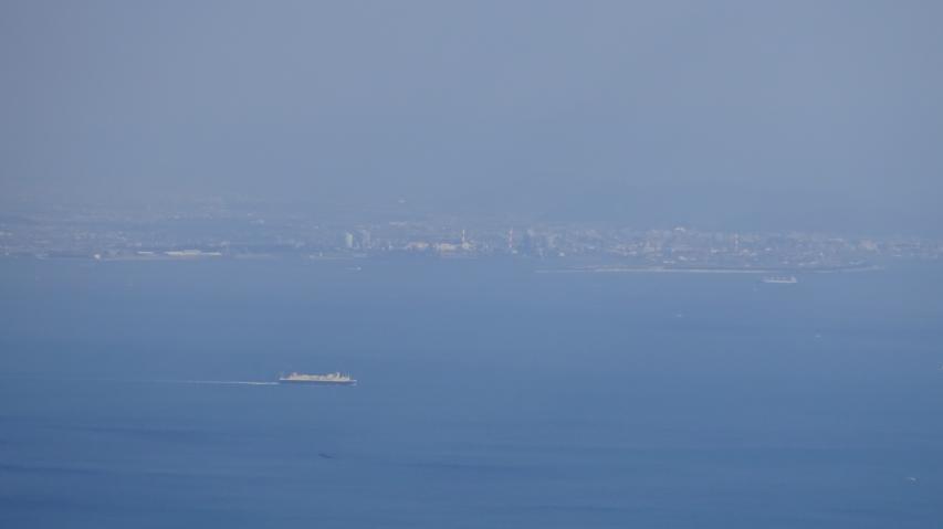 和歌山市が見える