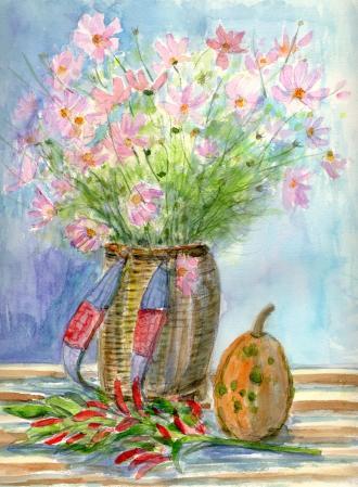 WEBコスモスの花
