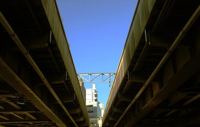 フリー画像東京の空