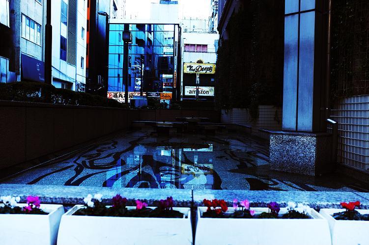 フリー画像新宿の街縮小