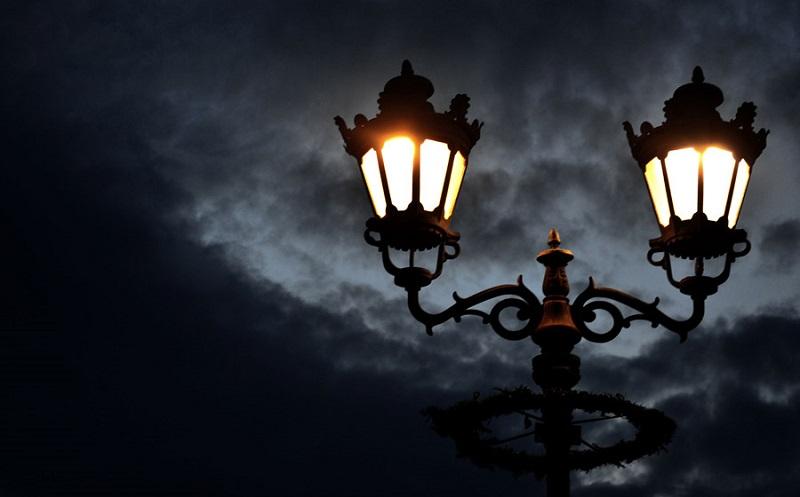 フリー画像街燈