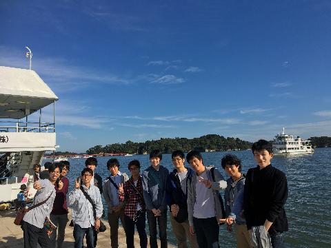東北旅行2日目…松島集合写真③