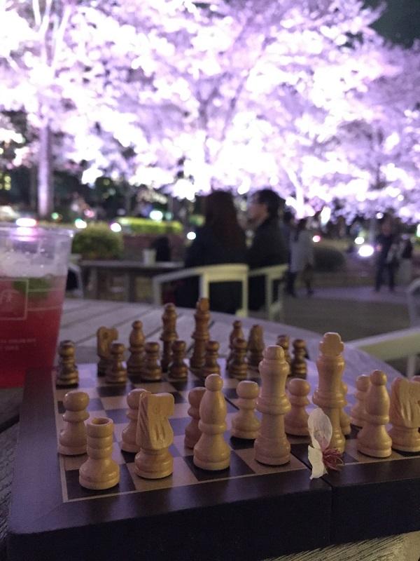 chess画像_夜桜