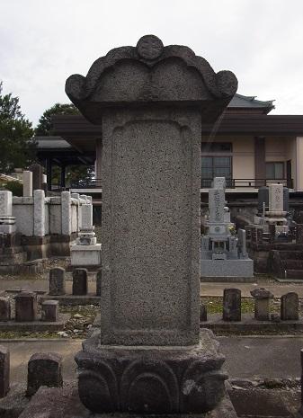 秋山景山墓 (1)