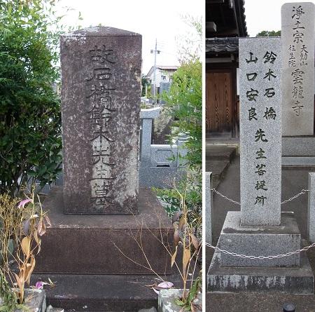 鈴木石橋墓