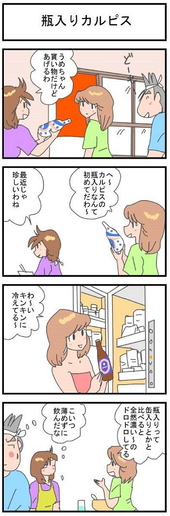 瓶入りカルピス2