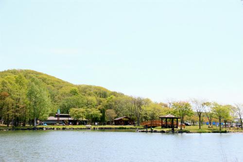 緑ヶ丘公園金太郎池