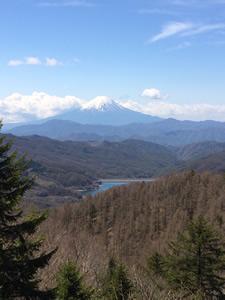 大菩薩峠からの富士山