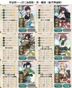 E7航空撃滅編成