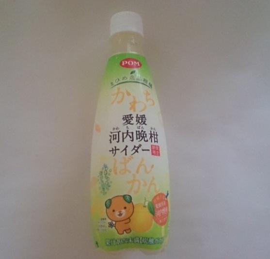 愛媛河内晩柑サイダ