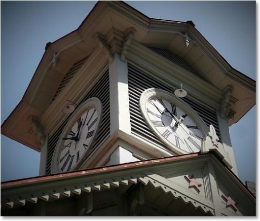 札幌の時計台1