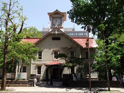 札幌の時計台2