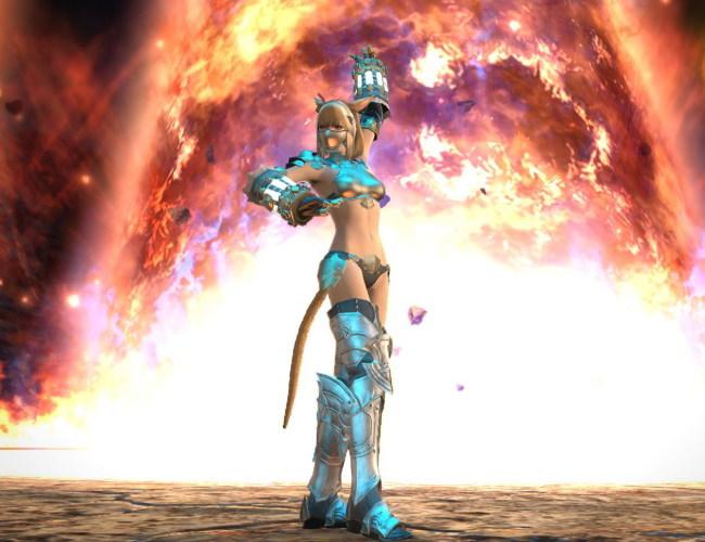 戦士の演舞で燃えるSSを撮る!1